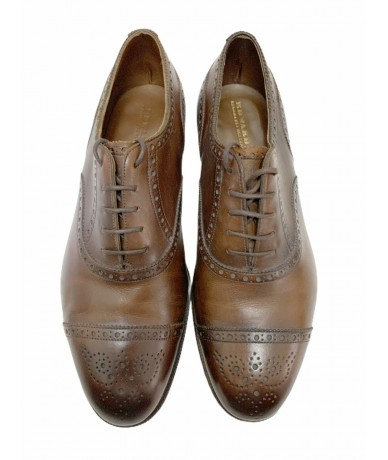 Edward Green men's derby shoes size 8.5 F col. Brown