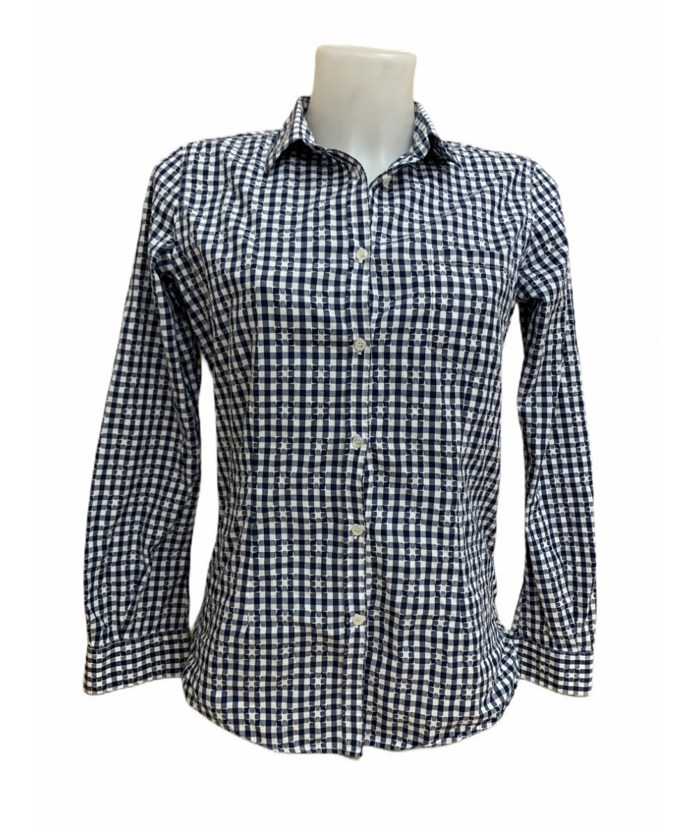 Golden Goose Deluxe checked shirt size M col. blue