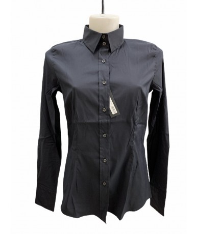 Mauro Grifoni Black woman shirt size. 46