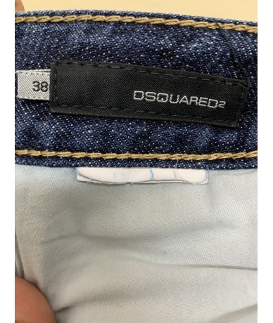 Dsquared2 women's jeans size 38 blue color
