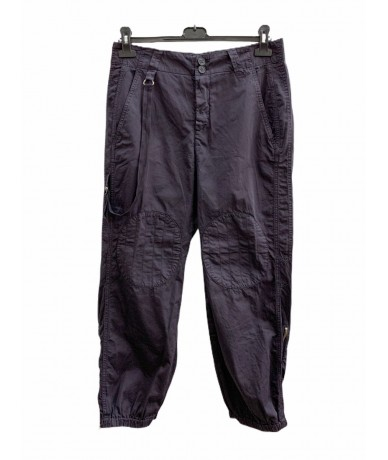 Dondup Purple blue trousers size. 27 (it 41) in cotton