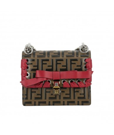 Fendi Can i Small 8M0831 tracolla in pelle logata1,649.00