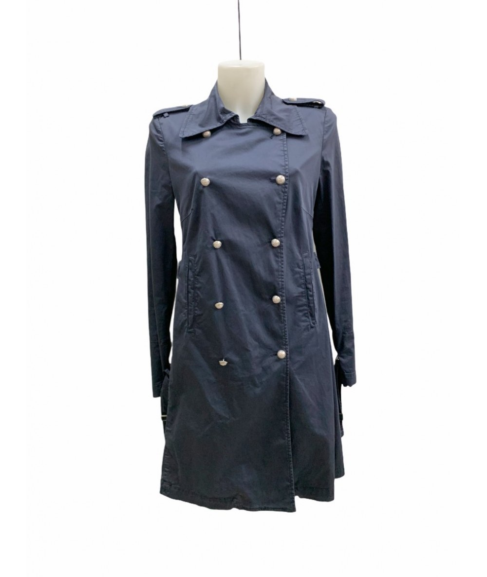 Dondup trench donna in cotone tg. 46 colore blu99,00€