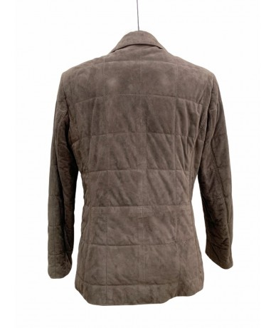 Burberry London suede leather jacket sz. 42 col. Brown