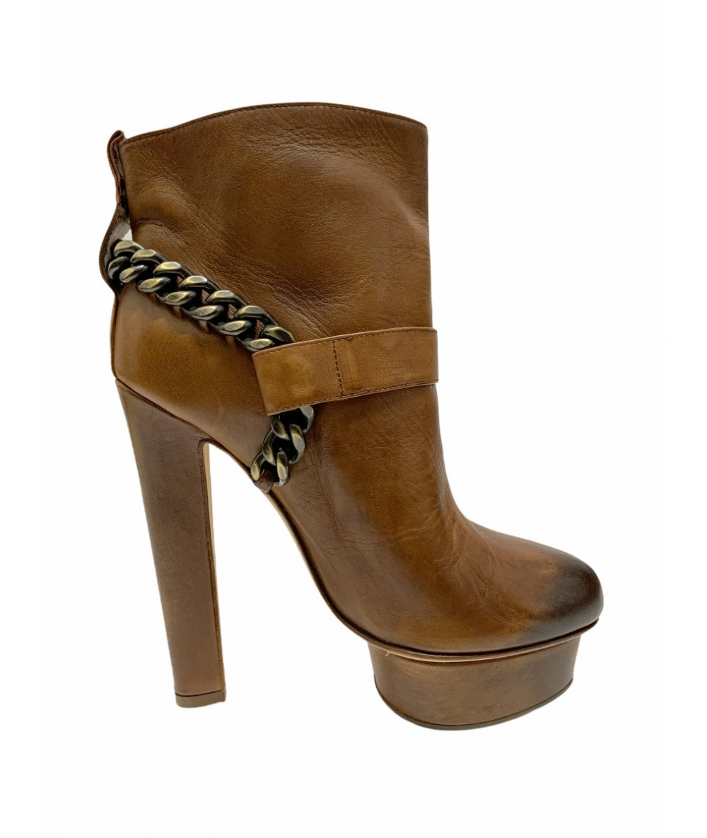 Le Silla Ankle boots size 36 in brown leather