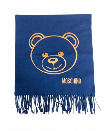 Moschino sciarpa in lana Teddy Bear colore blu85,00 €