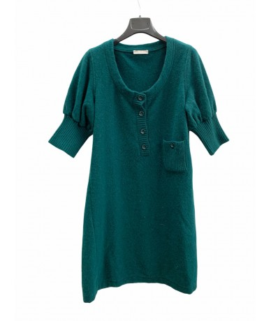 Chloé dress in wool size M green color