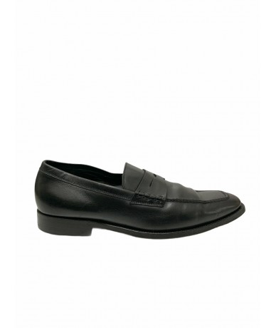 Tod's shoes moccasins in black leather tg. 8