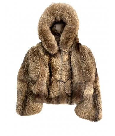 Murmasky fur with hood size 44-46