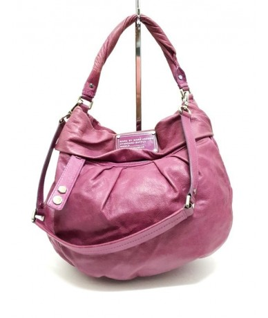 MARC By MARC JACOBS Bag in genuine fuchsia leather