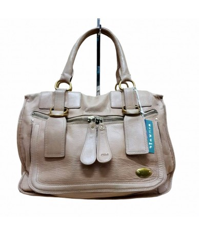 CHLOE 'Shoulder bag in beige leather