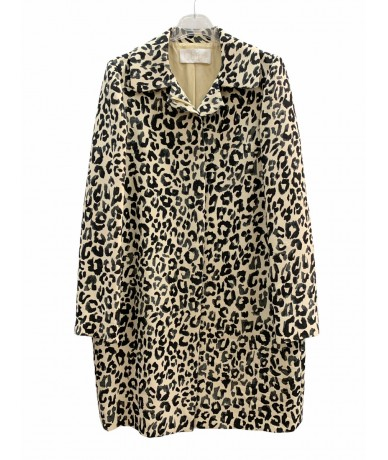 Chloè coat in wool and silk size 38 Fr (44 it) spotted
