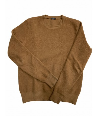 Patrizia Pepe sweater in 100% wool in brown color