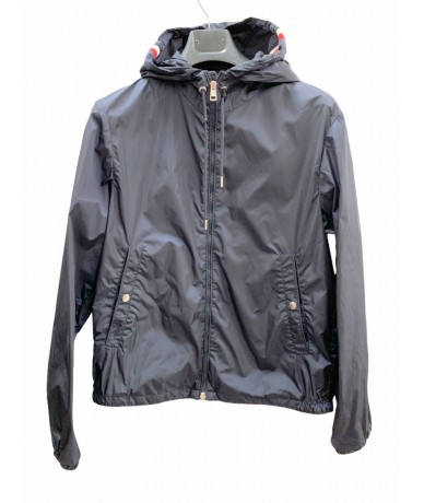 Moncler men's summer jacket tg. 2 (IT M) blue color