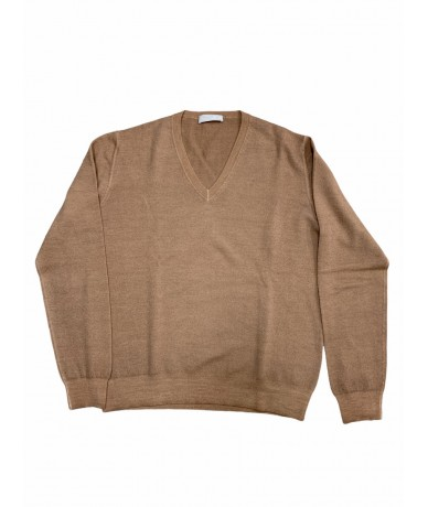 Prada wool sweater size 50 brown color