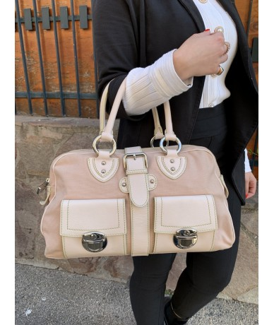 Marc Jacobs handbag in canvas and leather