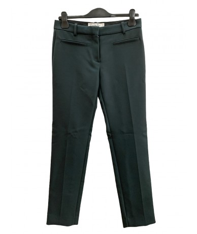Christian Dior Trousers size 42 in green color