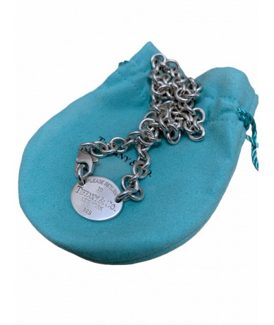 Tiffany & Co. Collana Oval Tag in argento449,00€