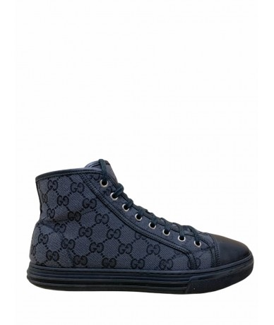 Gucci shoes sneakers high size 6.5 black color