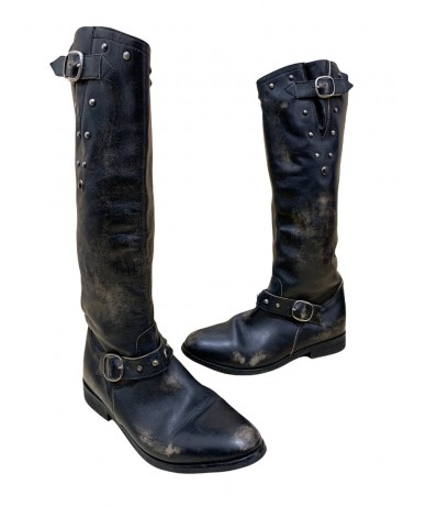 Golden Goose Boots mis. 39 in black leather