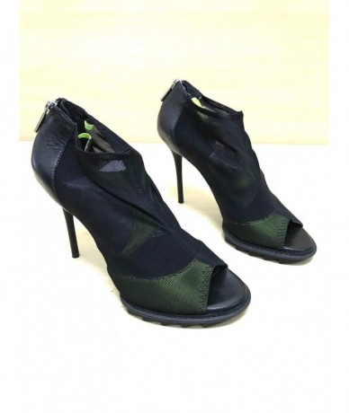 DKNY Women's shoes size 38 black and fluo green
