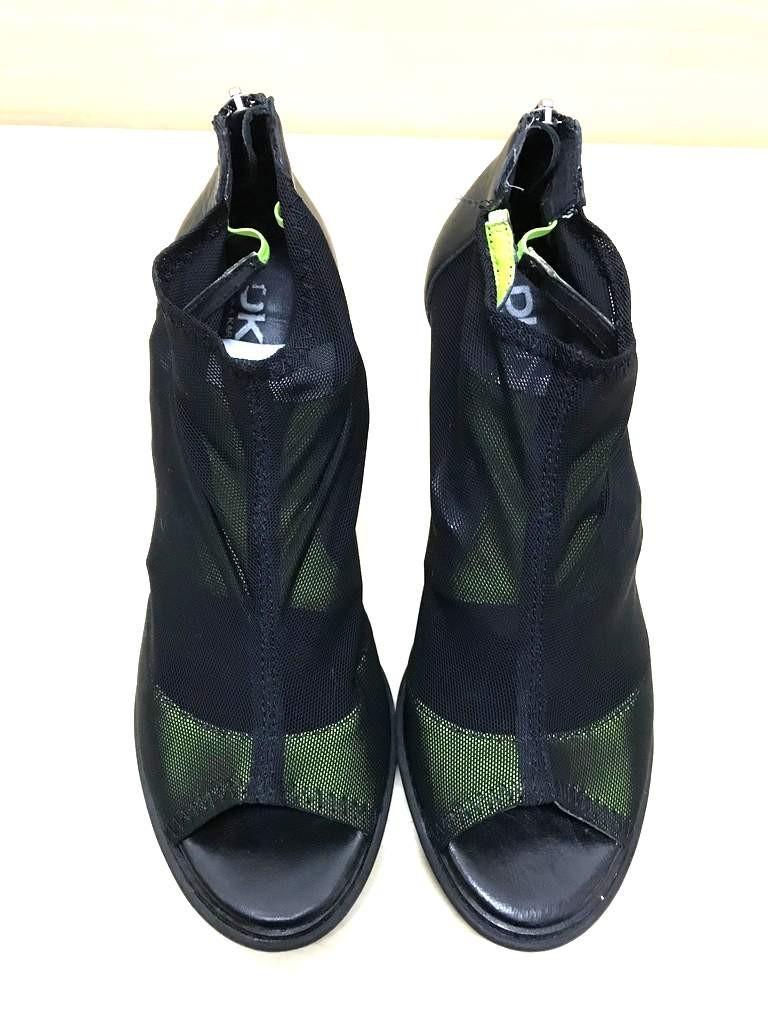 DKNY Scarpe donna tg 38 colore nero e verde fluo