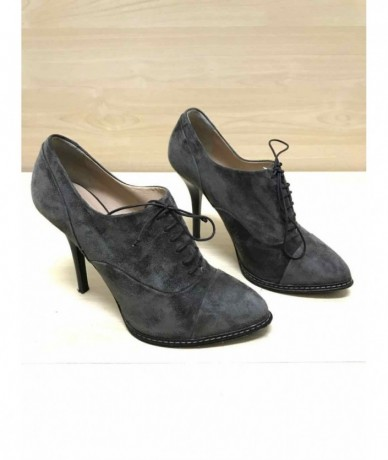 BALLIN Women's shoes in suede tg. 38 heel 11