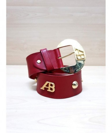 ANNA BIAGINI Leather belt size M