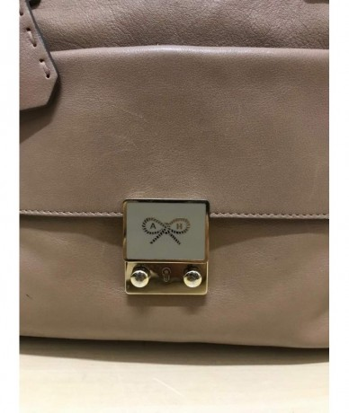 ANYA HINDMARCH Genuine leather handbag